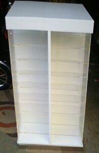 Very Nice Acrylic Counter Top Spinner Display Case Show Case
