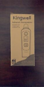 Kingwell Infrared Thermometer Dual mode instant Read fda Ce Approved