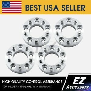 4 Wheel Adapters 5x127 5x5 Jeep Chevy Gmc Suburban Yukon C1500 Spacers 1 25