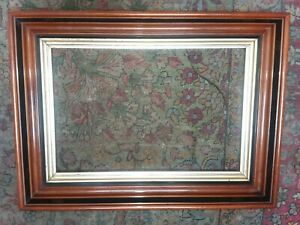 Antique Victorian Walnut Deep Picture Frame For Painting 23x17 18 1 2 X 12 1 4