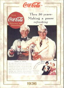 1993 Coca-Cola #36 50th Anniversary 1886-1936