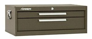 Kennedy Manufacturing 26 3 4 Intermediate Chest 2 Drawers Brown