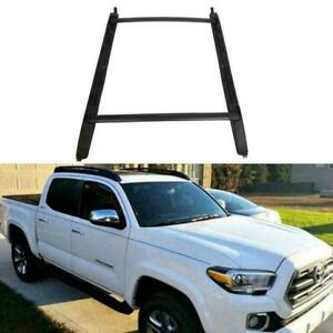 For 05 20 Toyota Tacoma Double Cab Luggage Carrier Roof Rack Crossbar Side Rails