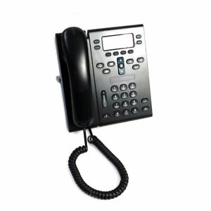 Cisco Cp 6945 Unified Ip Voip Business Phone Office Telephone W handset Stand