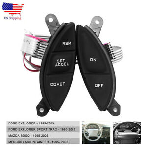 Fit Ford Explorer Sport Trac Ranger Steering Wheel Cruise Switch Control Button