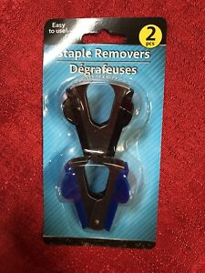 2 Pack Of Staple Pullers Removers Office Business School Supplies
