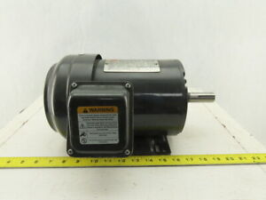 Dayton 3kw91g 1hp 1745rpm 3ph 208 230 460v 143t Frame Electric Ac Motor Tefc