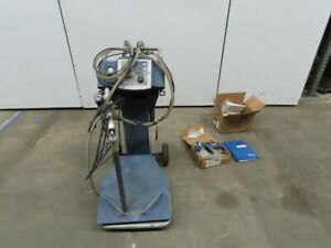 Nordson 1600827 Encore 115v Powder Coating Mobile Vbf Box Unloader Gun Package