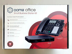 New Ooma Office Small Business Starter Kit Dect Desk Phone Expandable System