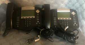 Lot Of 2 Polycom Soundpoint Ip 650 Sip Phones free S h