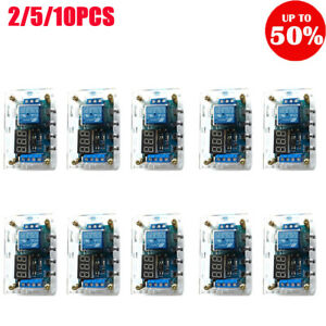 6 30v Relay Module Switch Trigger Time Delay Circuit Timer Cycle With Shell Lot