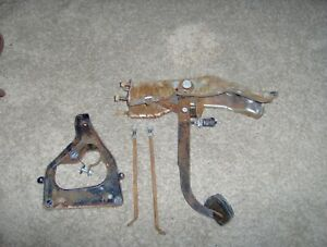 1962 62 Chevy Impala Bel Air Biscayne Automatic Brake Pedal Assembly