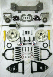1949 54 Chevy Mustang Ii Bolt On Manual Front End Suspension Kit Wilwood Stock