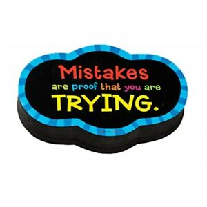Dowling Magnets Magnetic Whiteboard Eraser Mistakes Quote do 735252