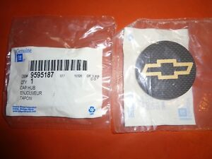 Nos 2003 04 05 Chevy Cavalier Wheel Center Cap Gm 9595187 Chevrolet Gold Bowtie