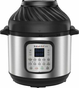 Instant Pot Duo Crisp 8qt Digital Multi Cooker With Air Fryer Stainless Stee