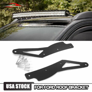 For 2005 2015 Toyota Tacoma Curved 40 Led Light Bar Roof Mount Bracket Mounting