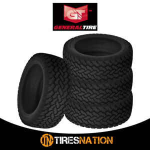 4 New General Grabber At2 265 70 16 112s All Terrain Control Tire