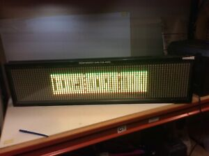 Signtronix Led 40 c sign Only