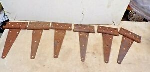 3 Pair Old T Strap Barn Door Hinges From Kanss Farm