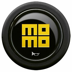 New Momo Gloss Black Steering Wheel Horn Button Sport Competition Tuning 59mm