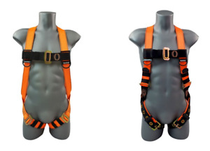 Safety Fall Economy Full Body Harness With Tongue Buckle Legs uni