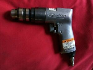 Blue point By Snap on Tools 3 8 Reversible Air Drill 2 200 Rpm At803 Very Nice