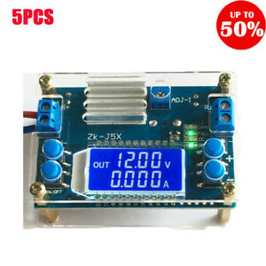 5a Dc dc Boost Buck Step down Constant Voltage Current Power Supply Module 5pcs