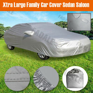 Xl Large Full Size Car Cover Water Dust Uv Dirt Proof Bcs3p