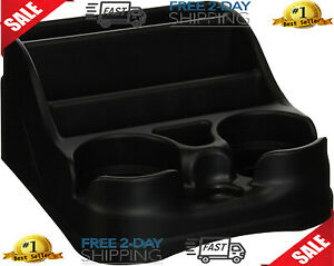 Car Cup Holder Universal Center Console Drink Storage 2 Cups