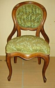 Victorian Style Upholstered Chair