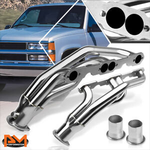 For 88 97 Chevy gmc C k 5 0 5 7 V8 Pickup Stainless Performance Exhaust Header