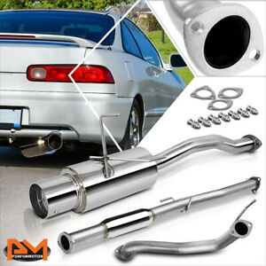 For 94 01 Acura Integra Dc1 Dc2 Gs ls rs 4 Tip Muffler Catback Exhaust System