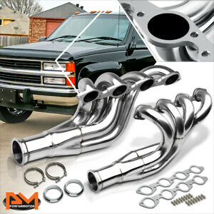 For Chevy Bbc Big Block 396 427 454 507 572 V8 Stainless Steel Exhaust Header