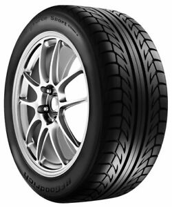 4 New Bf Goodrich G Force Sport Comp2 82v Tires 1955015 195 50 15 19550r15