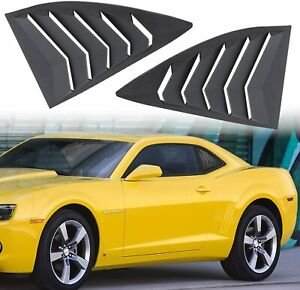 2pcs Side Window Louvers Sun Shade Cover For Chevy Camaro 2010 2015