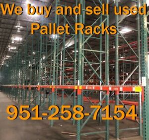 Used Pallet Racks For Sale In Southern California Interlake Warehouse Racking