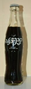 VINTAGE 1970'S NEW OLD COKE COCA COLA BOTTLE FROM ISRAEL WITH HEBREW WRITING