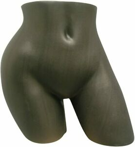 Sexy Female Underwear Tush Torso Form Mannequin Under Pants Store Display black