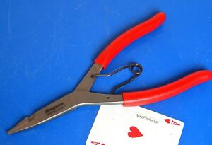 Snap on Tools Straight 3 32 Tip 8 7 8 Long Snap Retaining Ring Pliers New 2020