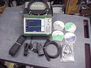 Anritsu Ms2711e 08 Handheld Spectrum Analyzer 100 Khz To 3 Ghz 30 Day Warranty