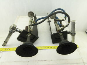 5 Stroke Suction Cup Vacuum Lifter Two Arm Assembly