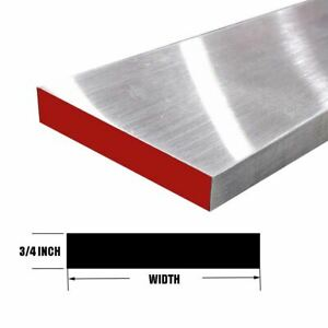 2024 Aluminum Rectangle Bar 0 750 X 3 X 48