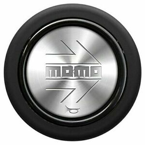 Momo Silver Polish Steering Wheel Horn Button Sport Competition Tuning 59mm New