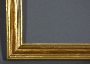 Antique Gold Gilt Art Hardwood Picture Frame 19 X 27