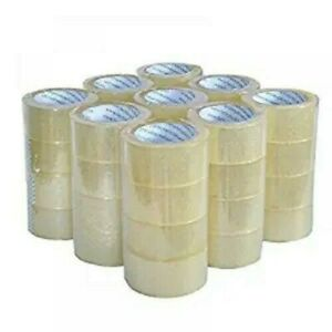 Carton Sealing Packing Tape 2 x 110 1 7mm 36 Rolls cs 60 Cs pallet Bulk Price