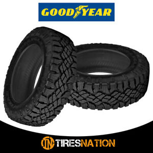 2 New Goodyear Wrangler Duratrac 265 65 17 112s All terrain Commercial Tires