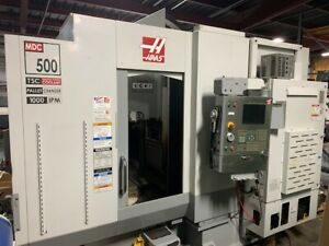 Haas Mdc 500 Cnc Mill Drill Tap Vertical Machining Center