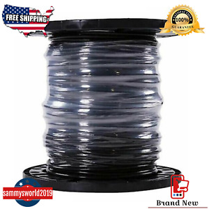 Southwire Simpull 6 awg 500 ft Stranded Black Copper Thhn Electrical Wire New