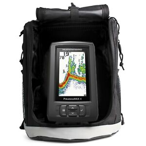 Humminbird HUM-410170-1 Piranhamax 4 PT Portable Fishfinder with Case